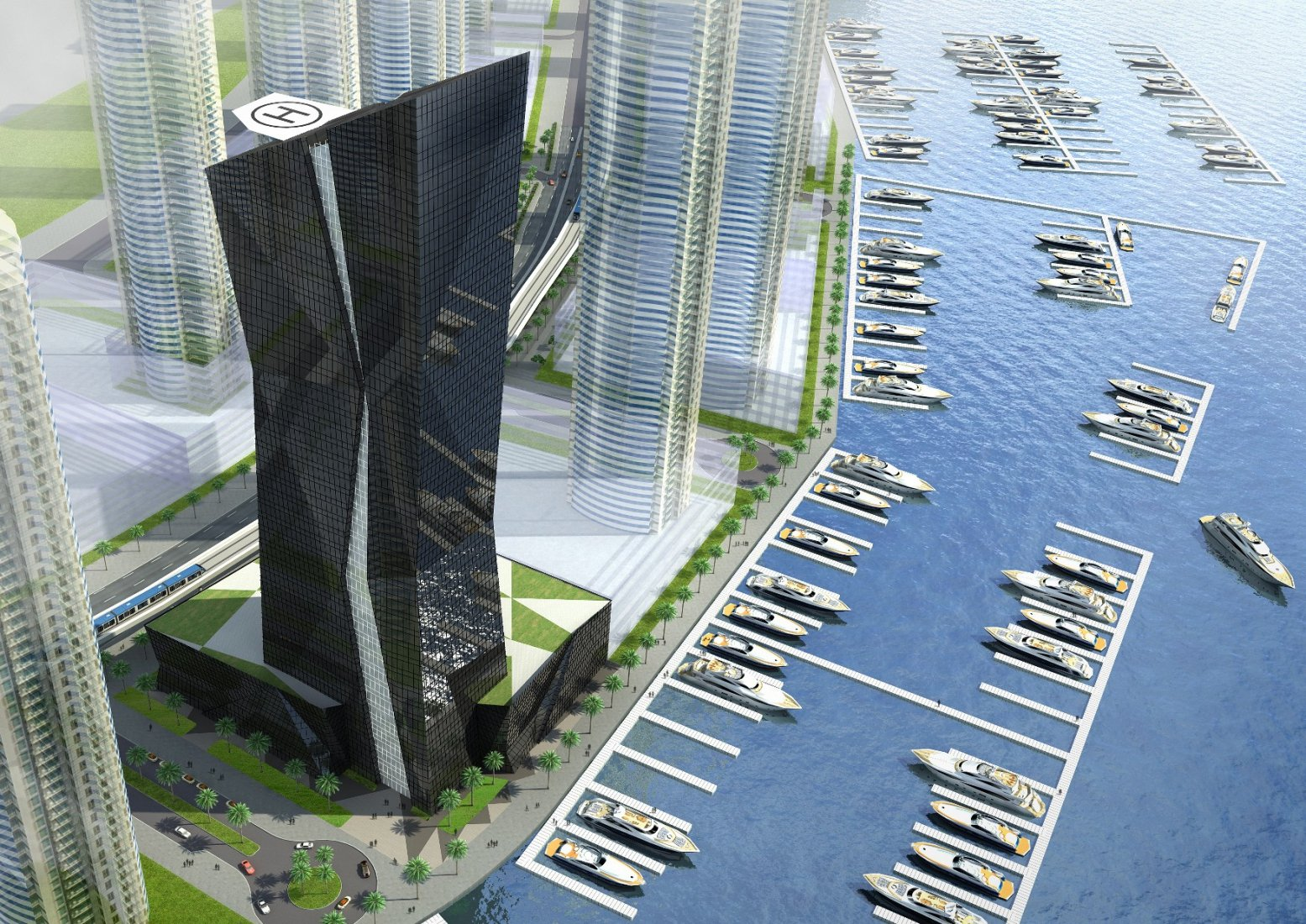Park Nova P&T-Kensington-Krystal-Dubai